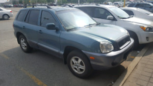 2003 Hyundai Santa Fe with Safety certificate