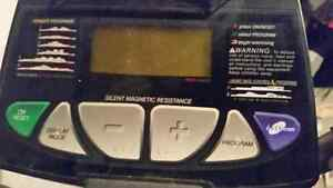 Programmable Exercise eliptical Trainer