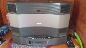 BOSE ACOUSTIC WAVE SYSTEM II & 5 DISC CHANGER  PRICE REDUCED
