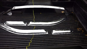 Chrome bug deflector and window vent  for 2007 Ford F150 Ext Cab St. John's Newfoundland image 2