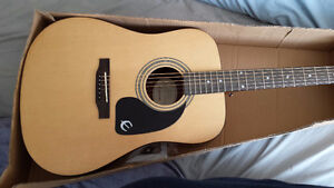 Epiphone Acoustic Guitar -- Like New Condition