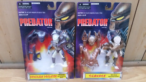 PREDATOR 1996 Action Figures by Kenner Toys