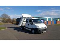 Iveco/ Seddon Daily AUTO CREW CAB TIPPER PICK UP
