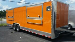 Brand New Concession/ Toy Hauler Trailer