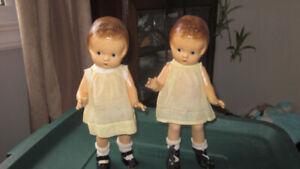 "1920-1930  12"" Patsy Jr Effanbee dolls"