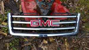 Gmc front grill