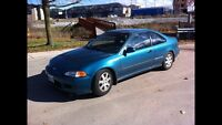 1995 Honda Civic coupe **CLEAN**
