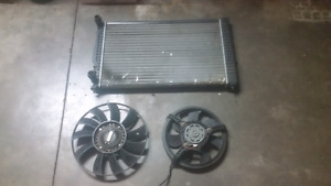 Vw Passat 2.8 /Audi Radiator and fans