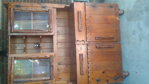 Hutch and Cabinet