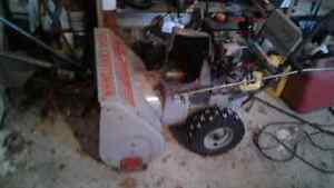 5hp 24inch snowblower