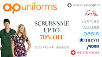 SCRUBS WAREHOUSE SALE UP TO 70% OFF