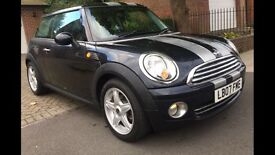 MINI COOPER 2007 BLACK 1.6 2 KEYS SERVICE HISTORY