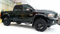 2014 DODGE RAM 1500 SPORT LIFTED, GRILL, BOARDS, DEMO PRICING !!