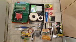 Home reno painting supplies