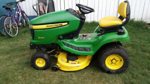 John Deere lawn tractors for sale SERVICED & READY TO MOW!