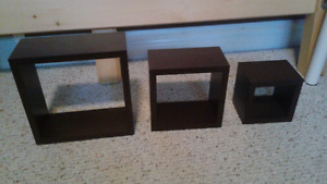 Set of shadow boxes
