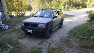 1999 Chikoot trail edition nissan pathfinder $1300obo.