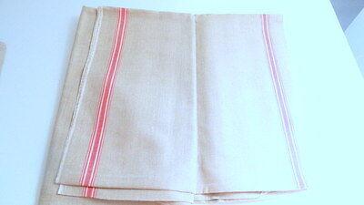 Rolltuch,grau, seitlich mit roten / weissen Streifen, unbenutzt, 90 x 300 cm