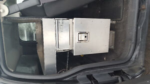 VAN OR PICKUP BEHIND SEAT TOOL BOX STORAGE