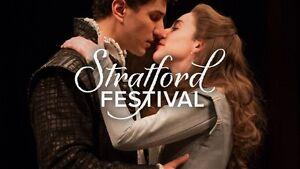 5x Stratfort Festival Tickets - GREAT PRICE!