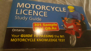 MOTORCYCLE LICENSE STUDY GUIDE!