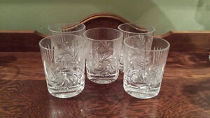 Pinwheel Glass Set NEW PRICE $45.00