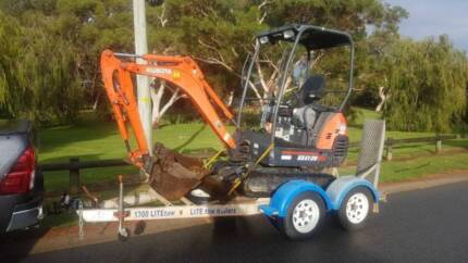 1.8T Excavator Hire (wet/dry) High Wycombe Kalamunda Area Preview