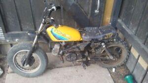 1982 JR50 for parts or repair