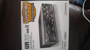 Steinberg UR22 2-Channel USB 2.0 Audio/MIDI Interface