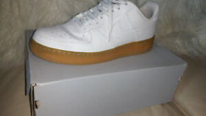 Air Force Ones Gum bottoms