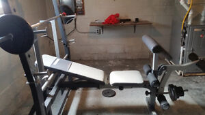 power house bench combo - $240