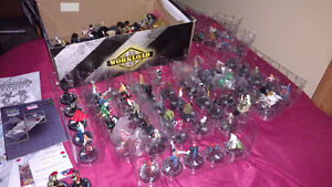 Marvel, DC Heroclix collection