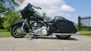 2013 Streetglide with $10,000 in upgrades.