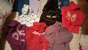 Girls Size 5 Pant and Sweater/Jacket Lot