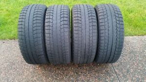 FOUR 225/55R/16  MICHELIN X ICE SNOW TIRES - VERY GOOD CONDITION