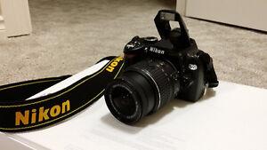 Nikon D60 DSLR Camera (Sample Photos Included)