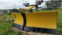 """8'6"""" Fisher Xtreme V Snow Plow"""