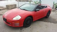 2002 MITSUBISHI ECLIPSE  !!!! MINT CONDITION