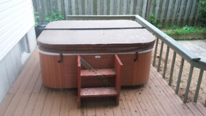 Must GO HOT Tub and furniture
