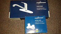 new  kitchen and bathroom taps new $50.00 for both