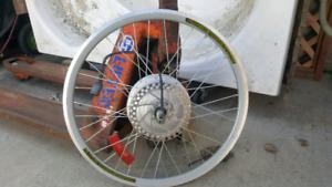 "Electric bike wheel 26"""