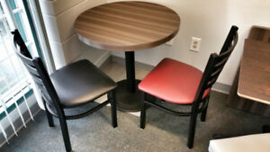 Chair, table, stool and booth for restaurant, coffee shop n bar