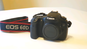 Canon 60D DSLR Camera - Body Only - Perfect working condition