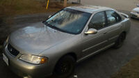 2001 Nissan Sentra Sedan ETested+Saftied