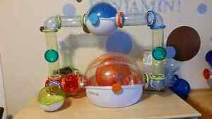 2 Hamster Cages With Extra Tunnels & Hamster Ball