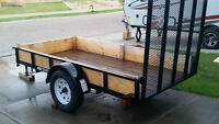 5ft x 10ft Utility Trailer (3,000 lb axles)