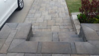 INTERLOCKING PATIOS RETAINER WALLS STEPS PATHWAYS RETAINER WALLS