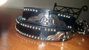 Genuine leather belt Edmonton Edmonton Area image 1