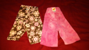 Asorted diaper covers for prefolds or fitted diapers. XS and SM.