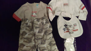 BNWT 5 piece baby outfit size 3-6 months